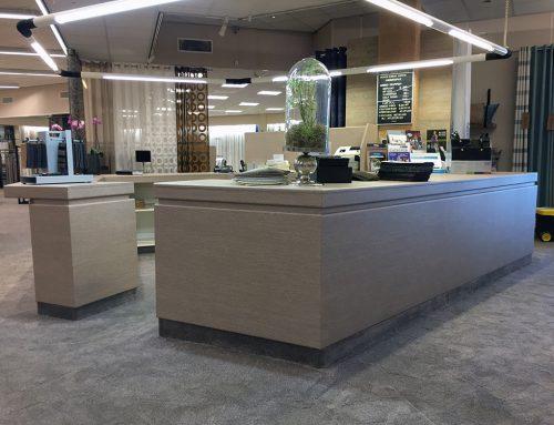 Tapijt en gordijn winkel